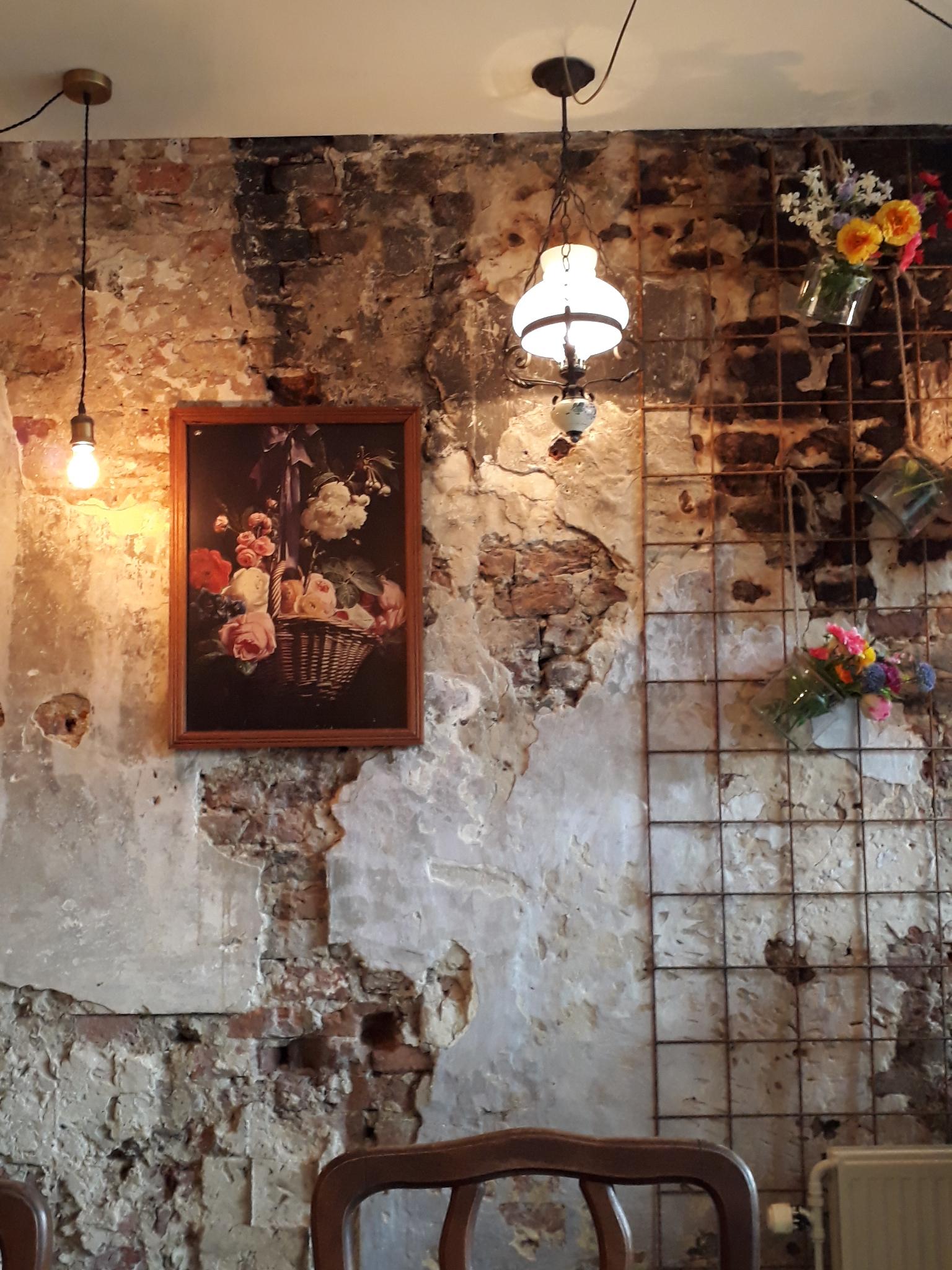 De vintage muur van Meneer Peer
