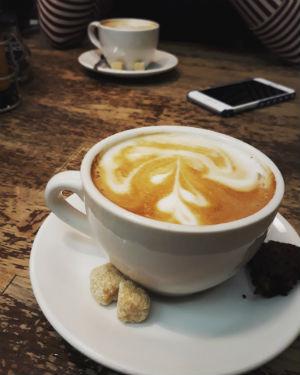 Koffie bij Eethuis Vers