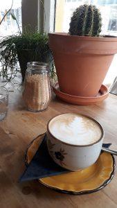 Koffie bij Rabarber